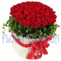 Premium Roses in a basket